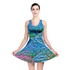 Pathway Nature Landscape Outdoor Reversible Skater Dress