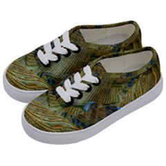 Rice Field China Asia Rice Rural Kids  Classic Low Top Sneakers by Celenk