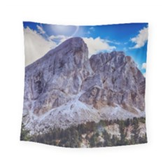 Rock Sky Nature Landscape Stone Square Tapestry (small) by Celenk