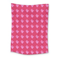 Punk Heart Pink Medium Tapestry by snowwhitegirl
