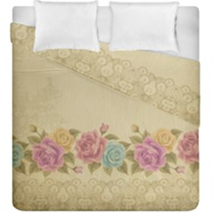 Shabby Country Duvet Cover Double Side (king Size) by 8fugoso
