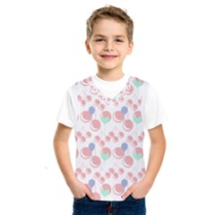 Bubblegum Cherry White Kids  Sportswear by snowwhitegirl
