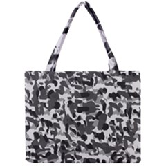 Grey Camo Mini Tote Bag