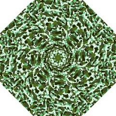 Green Camo Straight Umbrellas by snowwhitegirl