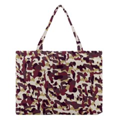 Red Camo Medium Tote Bag by snowwhitegirl