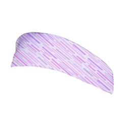 Silly Stripes Lilac Stretchable Headband by snowwhitegirl