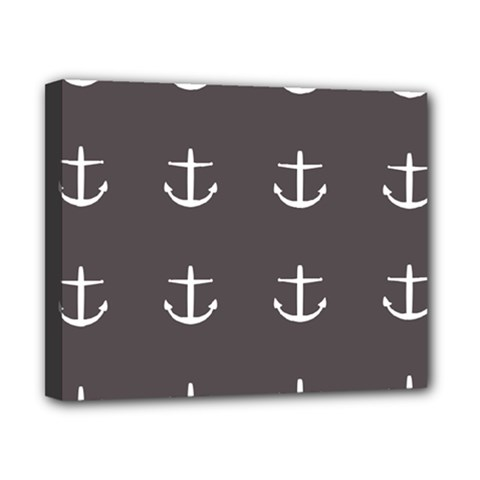 Grey Anchors Canvas 10  X 8  by snowwhitegirl