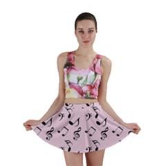 Pink Music Mini Skirt by snowwhitegirl