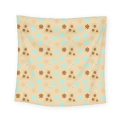 Beige Dress Square Tapestry (small) by snowwhitegirl