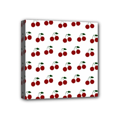 Cherries Mini Canvas 4  X 4  by snowwhitegirl