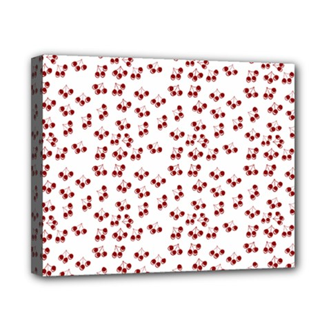 Red Cherries Canvas 10  X 8  by snowwhitegirl