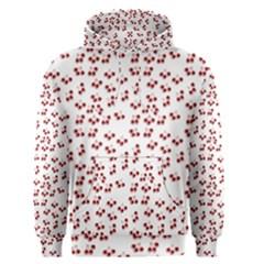 Red Cherries Men s Pullover Hoodie by snowwhitegirl
