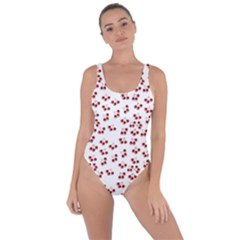 Red Cherries Bring Sexy Back Swimsuit by snowwhitegirl
