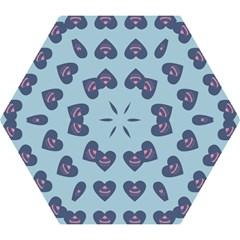 Cupcake Heart Teal Blue Mini Folding Umbrellas by snowwhitegirl