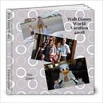 Walt Disney World - 8x8 Photo Book (30 pages)