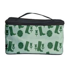 Green Boots Cosmetic Storage Case by snowwhitegirl