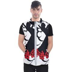 Flamenco Dancer Men s Puffer Vest