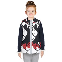 Flamenco Dancer Kid s Puffer Vest