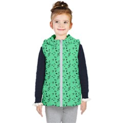 Green Music Kid s Puffer Vest
