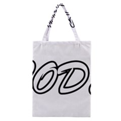 Code White Classic Tote Bag by Code