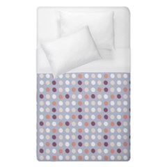 Pink Purple White Eggs On Lilac Duvet Cover (single Size)