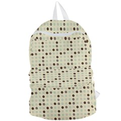 Brown Green Grey Eggs Foldable Lightweight Backpack