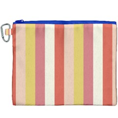 Candy Corn Canvas Cosmetic Bag (xxxl) by snowwhitegirl