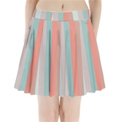 Seafoam Splash Pleated Mini Skirt by snowwhitegirl