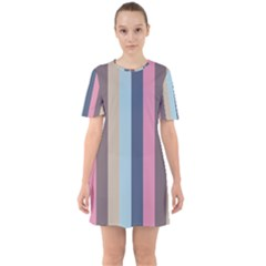 Modern Baroque Sixties Short Sleeve Mini Dress