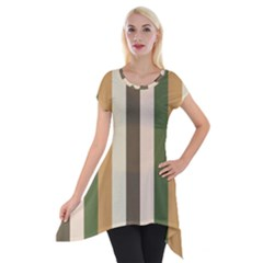 Earth Goddess Short Sleeve Side Drop Tunic by snowwhitegirl