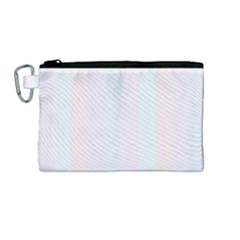Albino Pinks Canvas Cosmetic Bag (medium) by snowwhitegirl