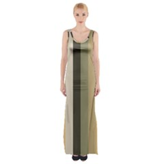 From Pigeon To Dove Maxi Thigh Split Dress