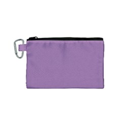 Another Purple Canvas Cosmetic Bag (small)