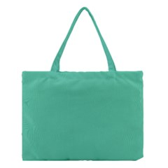 Seafoamy Green Medium Tote Bag by snowwhitegirl