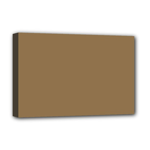 Brownish Deluxe Canvas 18  X 12   by snowwhitegirl