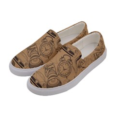 Lifestyle Pattern Women s Canvas Slip Ons by berwies