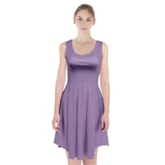 Grape Light Racerback Midi Dress