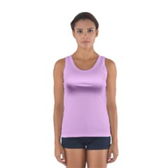 Baby Purple Sport Tank Top  by snowwhitegirl