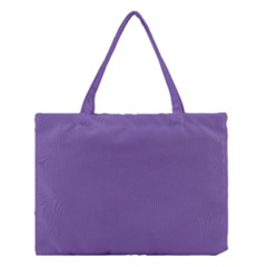 Purple Star Medium Tote Bag by snowwhitegirl