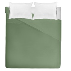 Army Green Duvet Cover Double Side (queen Size) by snowwhitegirl