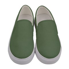 Army Green Women s Canvas Slip Ons