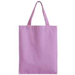 Lilac Star Zipper Classic Tote Bag by snowwhitegirl