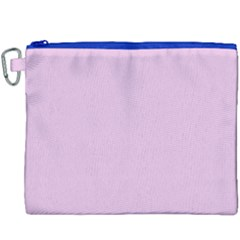 Lilac Star Canvas Cosmetic Bag (xxxl) by snowwhitegirl