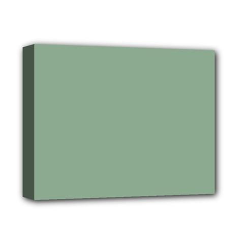 Mossy Green Deluxe Canvas 14  X 11  by snowwhitegirl