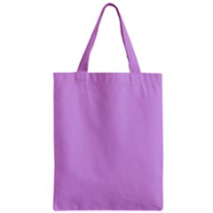 Purple Whim Zipper Classic Tote Bag by snowwhitegirl