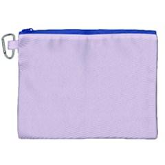 Baby Lilac Canvas Cosmetic Bag (xxl) by snowwhitegirl