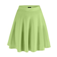 Grassy Green High Waist Skirt by snowwhitegirl