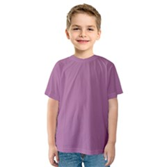 Silly Purple Kids  Sport Mesh Tee