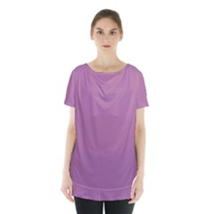 Silly Purple Skirt Hem Sports Top by snowwhitegirl