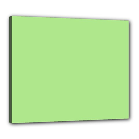 Meadow Green Canvas 24  X 20  by snowwhitegirl